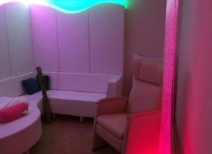 Salle Snoezelen de stimulation sensorielle