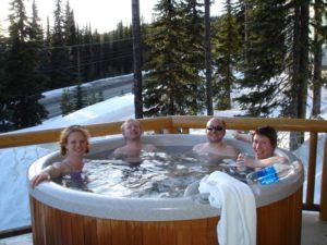 Bain chaud au Canada (cc C.Rowland)