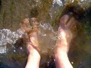 Bains de pieds à Noirmoutiers (cc Llan Wé)