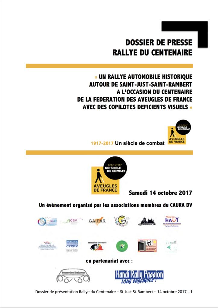 Rallye du centenaire (2017)