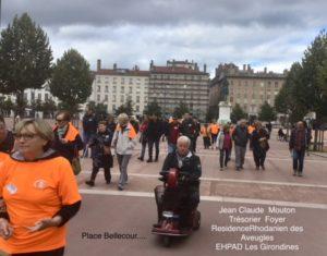 Marche Nationale pour la vue 2017 - Jean-Claude MOUTON