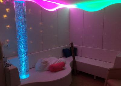 Salle Snoezelen - stimulation sensorielle
