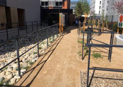 Jardin protégé des Girondines