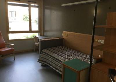 Chambre aménagée