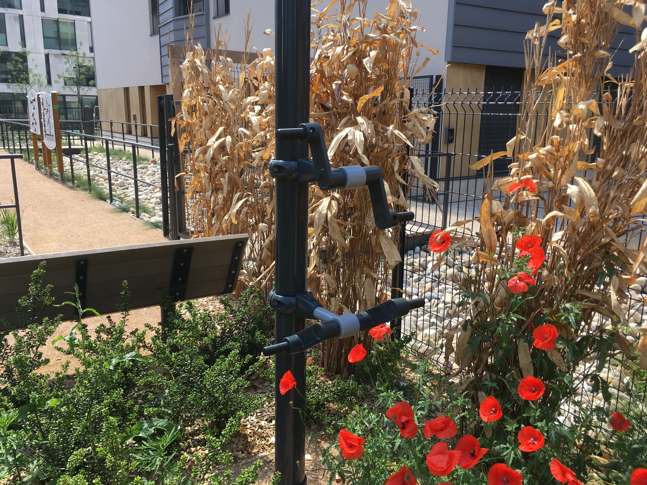 Les Girondines - jardin aménagé