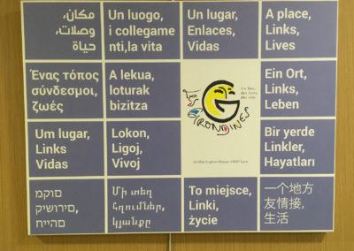 Notre devise multilingue