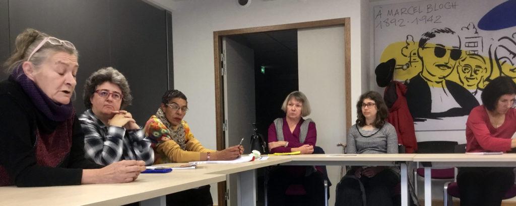 Réunion échanges sur le handicap aux Girondines oct. 2018