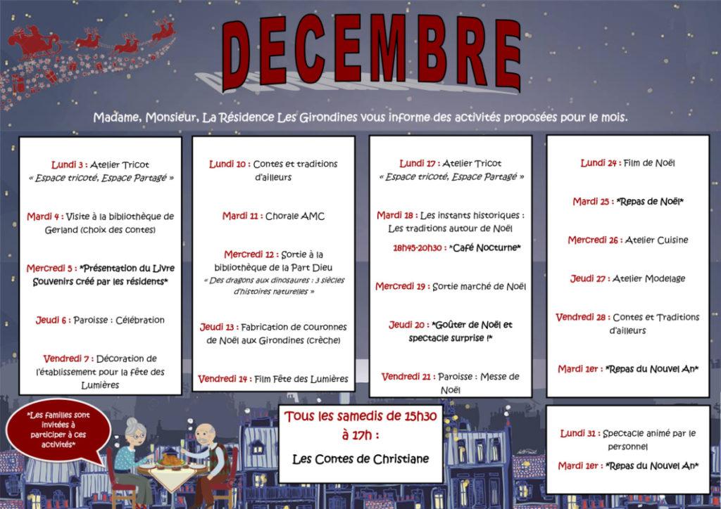 planning de décembre (image)