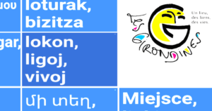 Slogan des girondines (E-o)