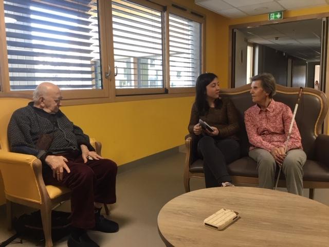 Rencontre entre résidents et élèves ingénieurs